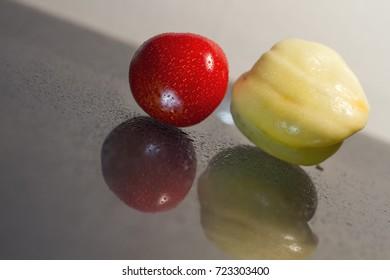 tomato and pepper