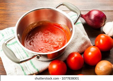 tomato sauce is an inseparable component of many dishes - the basis of Italian cuisine