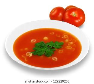 Tomato soup concept