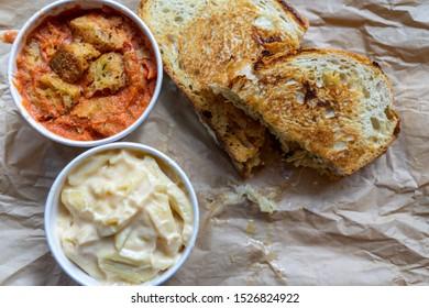 Tomato soup, past and a sandwich