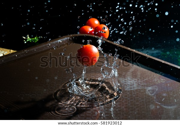 Tomato thrown overboard