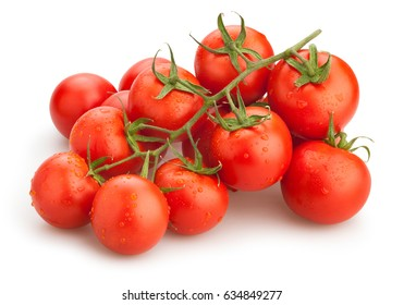 tomatoes branch isolated