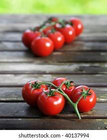 Tomatoes at a picnic