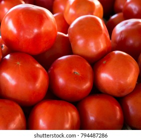 Tomatoes for sale at a local farmers market in St. Pete Beach, Florida