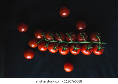 tomatoes that gathered in a team, friendly staff.