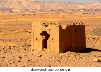 Tomb of the Al-Bagawat, an ancient Christian cemetery, one of the oldest in the world, Kharga Oasis, Egypt