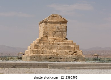 Tomb of Cyrus the Great, the ancient Persia emperor, in Pasargadae, the capital of Achaemenid Empire in VI century BC, on September 16, 2018.