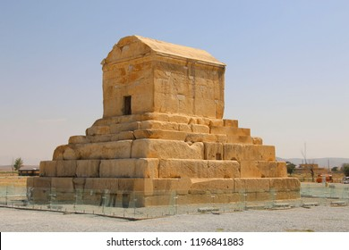 The tomb of Cyrus the Great is the most important monument in Pasargad. Iran