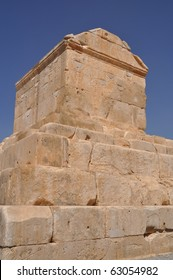 The tomb of Cyrus the Great is the most important monument in Pasargad.