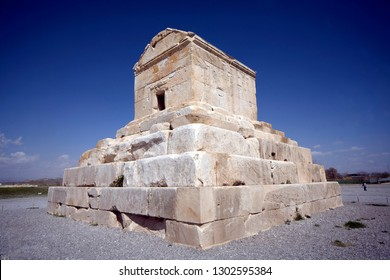 The tomb of Cyrus the Great, which is the tomb of the Achaemenid Cyrus II, called Cyrus the Great or Cyrus the Great, is a monumental, but unique architectural building, Shiraz, Fars, IRAN