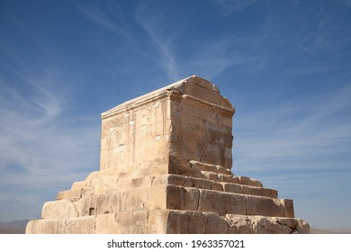 The tomb of Cyrus in Pasargad Iran  - Shutterstock ID 1963357021