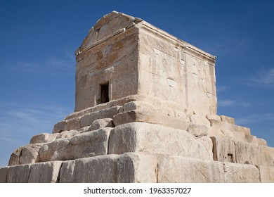 The tomb of Cyrus in Pasargad Iran  - Shutterstock ID 1963357027