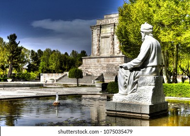 Tomb of Ferdowsi  is a tomb complex composed of a white marble base, and a decorative edifice erected in honor of the Persian poet Ferdowsi located in Tus, Iran, in Razavi Khoasan province.