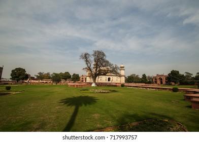 Tomb of I'timad-ud-Daulah or Baby Taj in Agra, India.