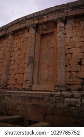 Tomb of Juba II and Cleopatra Selene II, Tipasa ruin, Algeria