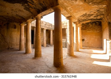 Tomb of the Kings, Paphos in Cyprus