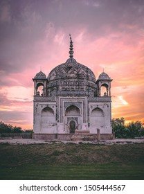 Tomb of Lal Khan, Varanasi, Uttar Pradesh, India, August 2019   Rauza Lal Khan's tomb at Raj Ghat, Varanasi, was built in 1773 and is notable for its marvellous architecture.