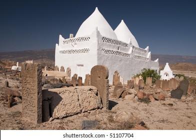 Tomb of prophet Bin Ali, Mirbat, Oman