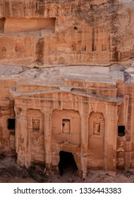 The Tomb of the Roman Soldier, elevated view, Petra, Ma'an Governorate, Jordan