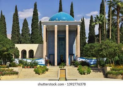 Tomb of Saadi in Shiraz city, Iran