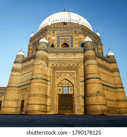 The Tomb of Shah Rukn-e-Alam located in Multan, Pakistan, is the mausoleum of the Sufi saint Sheikh Rukn-ud-Din Abul Fateh. The shrine is example of Tughluq architecture and great tourist attraction.