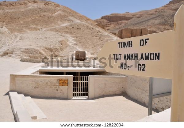 Tomb of Tutankhamon in Valey of the Kings, Luxor, Egypt
