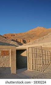 Tomb of Tutankhamun in Valley Of The Kings, Egypt