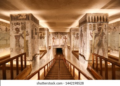 Tomb in Valley of the Kings, Luxor City, Egypt