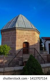 The tomb of Ateşbaz Veli, who is the Sufi.