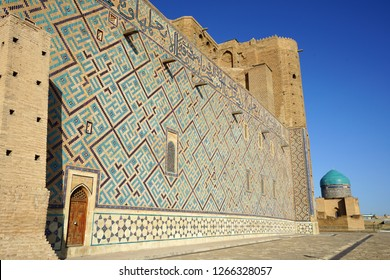 The Tomb of Yasawi Khoja Ahmed, in southern Kazakhstan