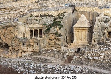 Tomb of Zechariah in Jerusalem, Israel