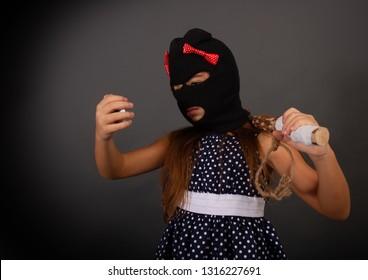7a72cf4d03d0e A tomboy teen girl with bright fancy dresses