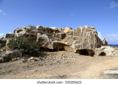 Tombs of the Kings, an ancient necropolis in Paphos.