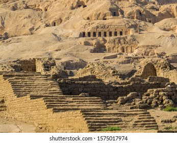 Tombs of the Nobles, Luxor, Egypt