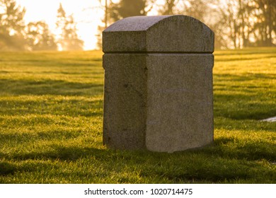 Tombstone in the Morning Light