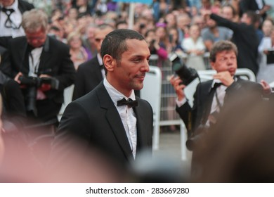 Tomer Sisley attends the'Mad Max : Fury Road' Premiere during the 68th annual Cannes Film Festival on May 14, 2015 in Cannes, France.