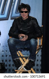 Tommy Lee at the KISS & Motley Crue Press Conference, Roosevelt Hotel, Hollywood, CA 03-20-12