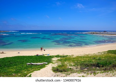 Tomori Beach which is located at the northern part of Amami Oshima, Kagoshima, Japan
