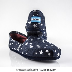 Toms Shoes on White