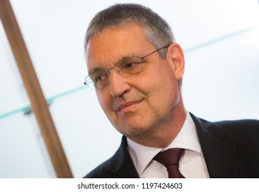 TOMSK / RUSSIA - OCTOBER 8, 2018: Markus Ederer - European Union ambassador in Russia