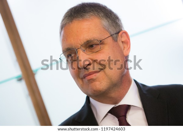 TOMSK / RUSSIA - OCTOBER 8, 2018: Markus Ederer - European Union ambassador in Russia