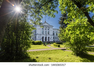 Tomsk/Russia - June 15, 2019. National Research Tomsk State University - the first Russian university in the territory of Russian Asia