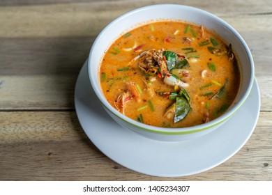 TomYam, Tom Yam Spicy Thai soup, Thai food,