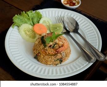 Tomyum Gung fried rice