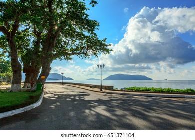 Ton Duc Thang street, Con Dao island, Ba Ria Vung Tau, Vietnam