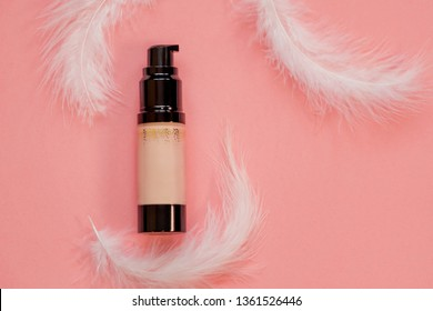 Tonal bases for make-up and skin care in a tube and in a bottle with a dispenser. A tonal Foundation for soft, silky skin