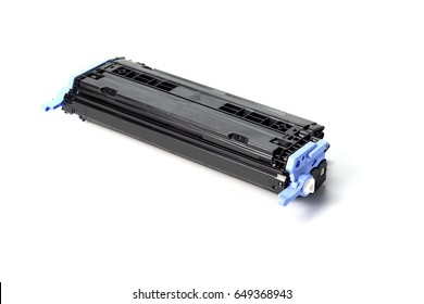 Toner cartridge on white background.(Compatible)