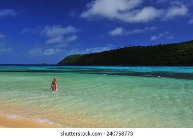 Tonga paradise Photo taken on Mala Island Tonga. Little paradise far away.