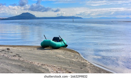 Tongarino River and Lake Taupo
