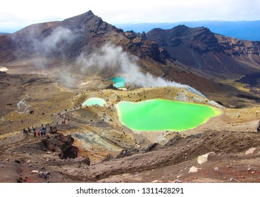 Tongariro Alpine Crossing, Tongariro National Park New Zealand